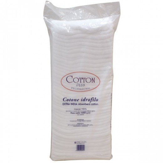 COTTON WOOL (1 KG.)