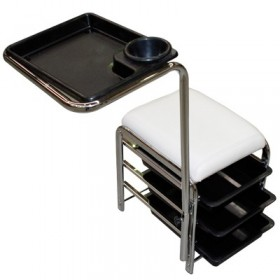 WHITE MANICURE CART
