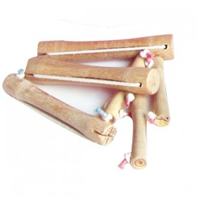WOODEN ROLLERS (12 UNITS)