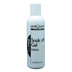 SOAK OFF GEL 100ML - ACETONA