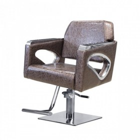 ARMCHAIR STRAIGHT LINE BROWN