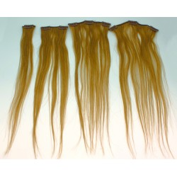 WEFTED NATURAL HAIR EXT....
