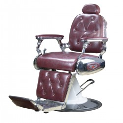 ARMCHAIR BARBER DELTA RED