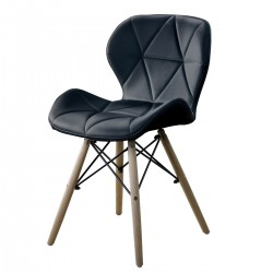 CHAISE EIFFEL QUILTED NOIR...