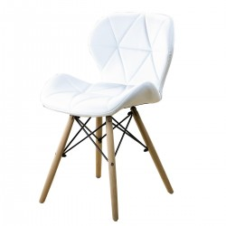 CHAISE EIFFEL QUILTED BLANC...