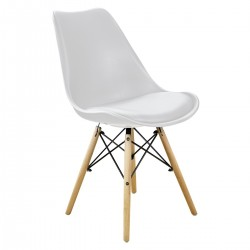 CHAIR NORDIC WHITE...
