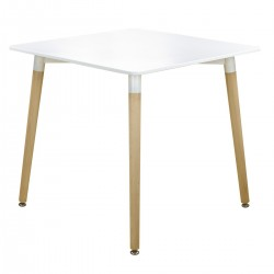 WHITE TABLE NORDIC - SMALL...