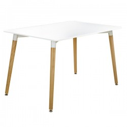 WHITE TABLE NORDIC - LARGE...