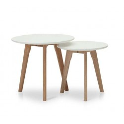 TWINS WHITE TABLE