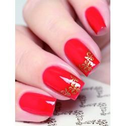 NAIL ART STICKERS BROWN...